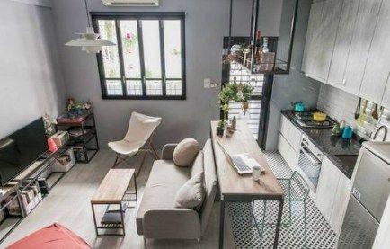 Best Apartment Living Room Kitchen Budget 68 Ideas Small Apartment Kitchen Decor Small Apartment Living Room Apartment Decorating Rental
