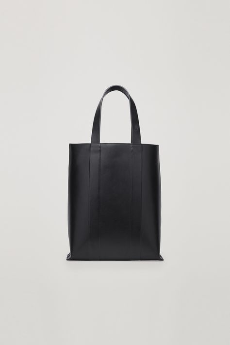 COS | Structured leather tote bag