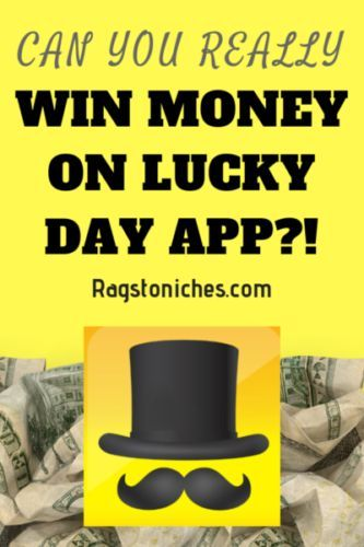 How To Win Money Lucky Day