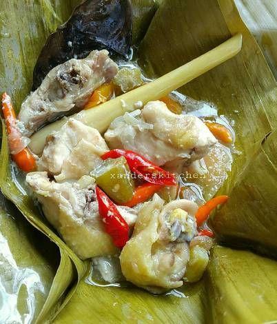 Resep Garang Asem Ayam Kampung Pr Masakanbungkusdaun Oleh Xander S Kitchen Resep Ide Makanan Resep Masakan Makanan Dan Minuman