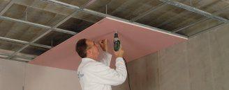 Comment Poser Un Plafond Pose Rapide Feu Stil F530 Pose Placo Plafond Types De Planchers Plafond