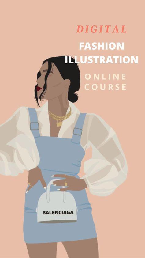 Digital Fashion Illustration Tutorial