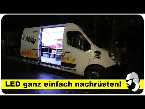 Led Beleuchtung Im Laderaum Fur Transporter Wohnmobil Auto Anleitung Bing Video In 2020 Led Led Leuchten Led Beleuchtung