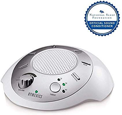 Amazon Com White Noise Sound Machine Portable Sleep Therapy For Home Office Baby Travel 6 Relaxing Soo White Noise Sound Sound Machine Sleep Therapy