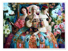 Olga Suvorova Promenade 1 in 2020 | Poster prints