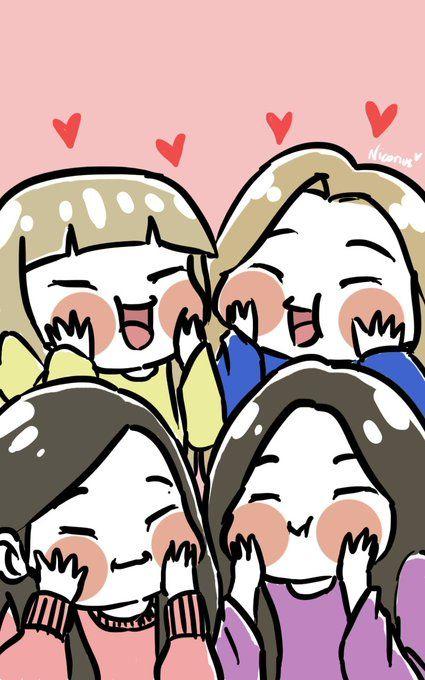 Nic On Twitter Drawings Of Friends Girls Cartoon Art Cute Cartoon Wallpapers