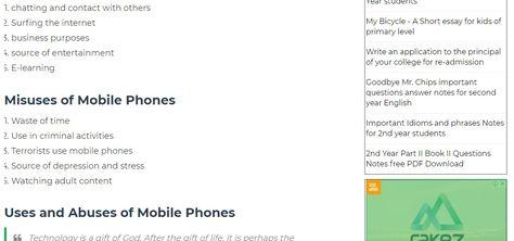 Mobile Essay In English Pdf - Essay on internet in hindi pdf