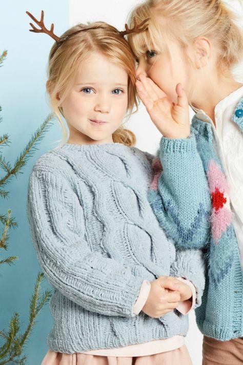 Ocelia genser 4 12 år Barn