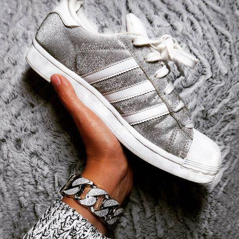 adidas superstar glitter instagram