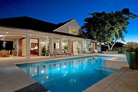 Good Morning Ok Granted A Pool House Is Often Not At The Top Of The Must Have List But Is Often A Would Like T Pool Houses Pool House Designs Hawaii Homes