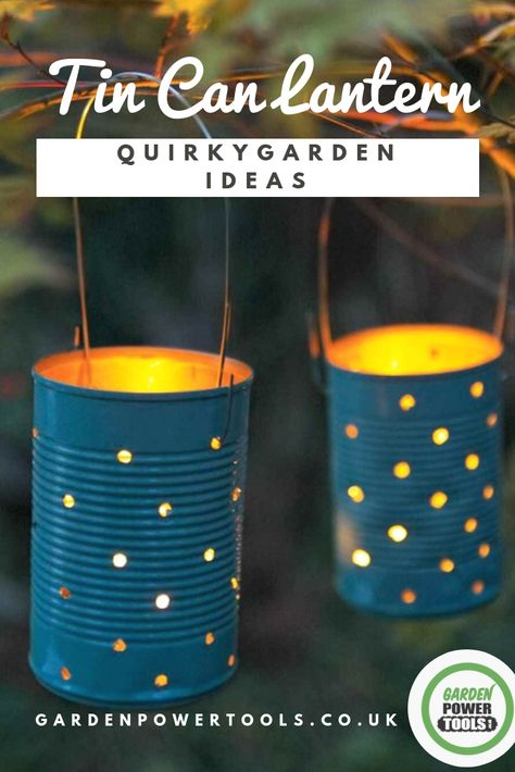 Quirky Garden Ideas with Upcycle Baked Bean Cans Looking for some quirky, unique garden decoration ideas? Perhaps A DIY job to make it truly unique? Here are 33 of the best quirky garden ideas to try today Unique Garden Decor, Unique Gardens, Amazing Gardens, Outdoor Garden Decor, Garden Gazebo, Modern Gardens, Garden Wedding Decorations, Garden Table, Outdoor Plants