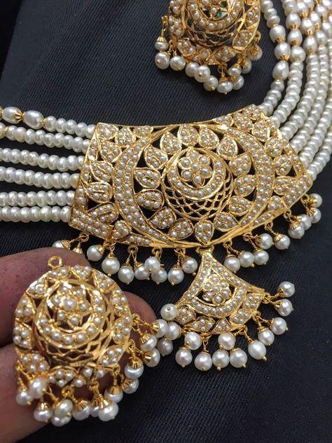 Indian Ethnic Jumka Jumki Bollywood Gold New Kundan Trendy Bali Earrings B 516