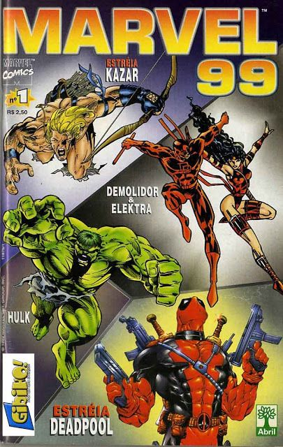Deadpool V1 1997 2002 Marvel Completa Download De Hqs Marvel