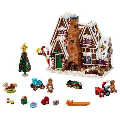 Lego Creator Expert Gingerbread House Building Kit 10267 In 2020 Lego Gingerbread House Lego Creator Lego