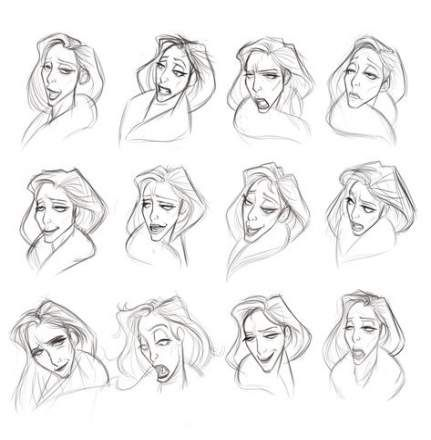 Super Drawing Reference Face Character Design Female Characters Ideas Face Sketch Character Design Animation Face Characters