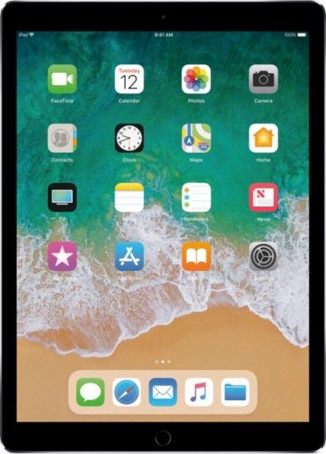 Apple 12 9 Inch Ipad Pro Latest Model With Wi Fi 64gb Space Gray Front Zoom New Apple Ipad Apple Ipad Mini Apple Ipad