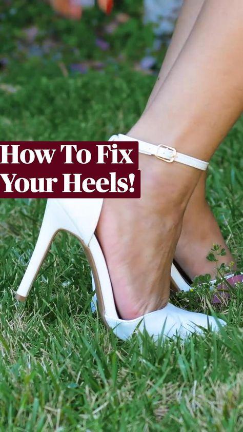 How To Fix Your Heels & Broken Toe!