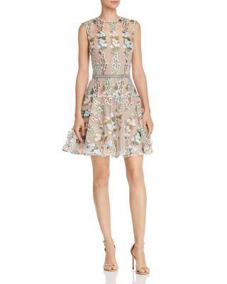 Bronx And Banco Isola Floral Embroidered Mini Dress Bloomingdale S Ladies Mini Dresses Mini Dress Dresses