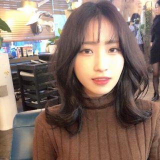 韓国 ミディアム Yahoo 検索 画像 ミディアムボブ ストレート