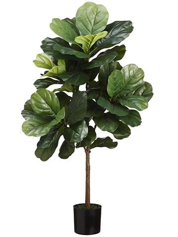 Fiddle Leaf Fig Tree Plant Artificial Plants In Pots Afloral