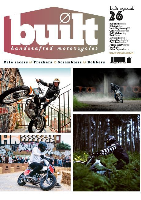 Built Issue 26 Bike Shed Hot Bikes Building
