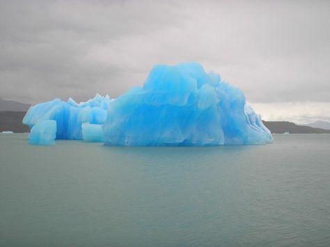 Blue Iceberg Newfoundland Canada