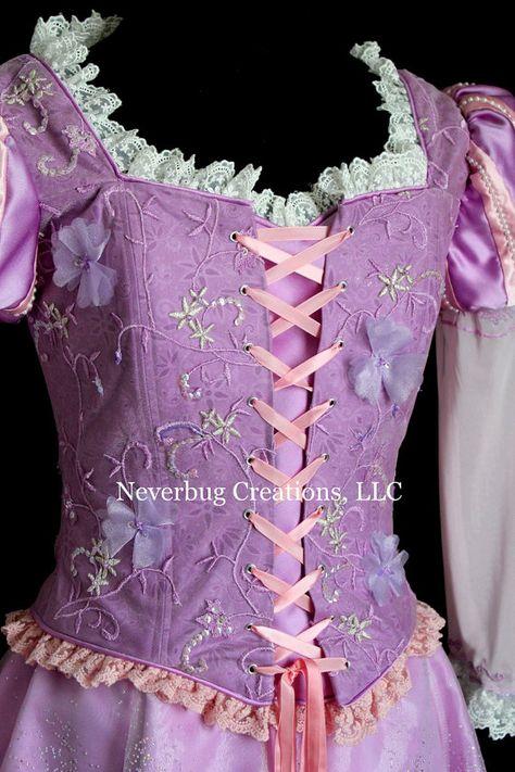 Rapunzel Parade Version Custom Costume