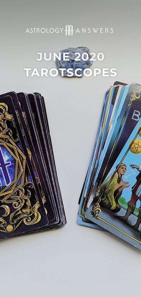 Just in time for June! Your June Tarotscopes will give you the insight you need to make it through the month - what's in store for you? #tarot #tarotscopes #junetarot #tarotreading #junetarotreading #june2020 #2020tarot