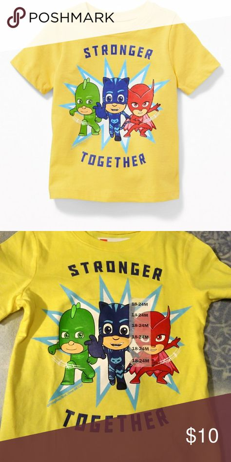 Pj Masks Stronger Together T Shirt Nwt T Shirt Clothes Design