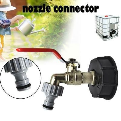 Ad Ebay Url Ibc Tote Tank Drain Adapter 1 2 Garden Hose Faucet Water Tank Hose Connector In 2020 Water Tank Faucet Brass Tank
