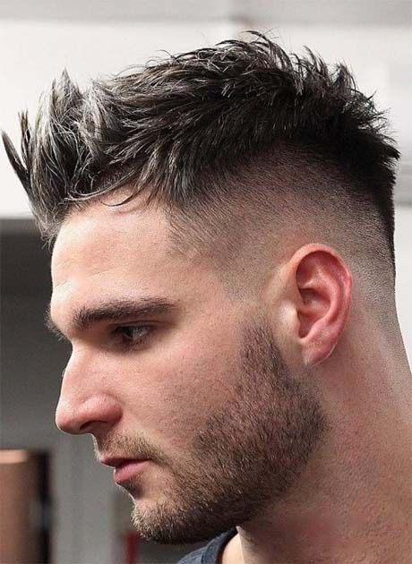 Spiky Quiff Haircut Ideas For Men 2019 Latest Fashion Trends Hottest Hairstyles Ideas Inspiration Quiff Haircut Curly Hair Men Curly Hair Styles