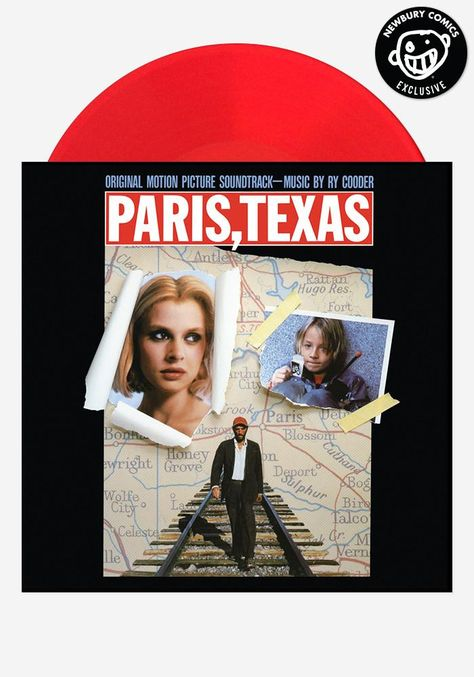 Soundtrack Paris Texas Exclusive Lp Soundtrack Newbury Comics Soundtrack Music