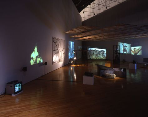 Joan Jonas. Mirage. Installation view Fondazione