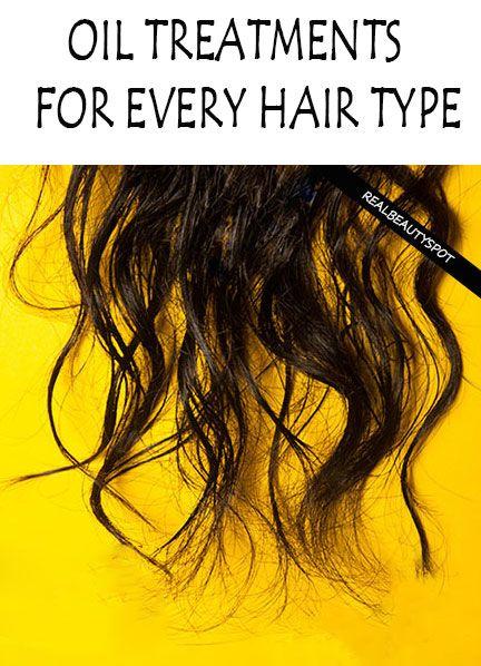 DIY hair oil treatments for your hair type - thinning hair, damaged hair, dry hair, hair fall, split ends....