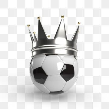 Classic White Soccer Ball With A Silver Crown 3d Render National Tournament Shoot Png Transparent Clipart Image And Psd File For Free Download In 2020 Soccer Ball Silver Crown Classic White