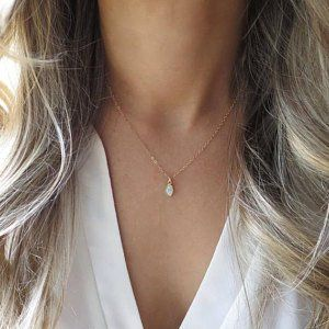 d120cc631a6d4 Minimalist and Dainty Layered Necklaces and Jewlery by LandonLacey ...