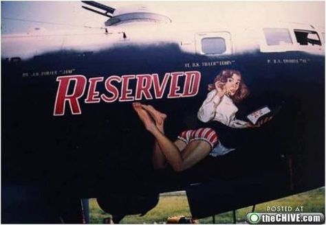 Collection of Aviation Pin Up and Nose Art copyrights belong to their respective owners.