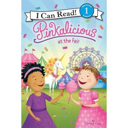 I Can Read Level 1 Pinkalicious At The Fair Hardcover Walmart Com Pinkalicious I Can Read Books Unicorn Books