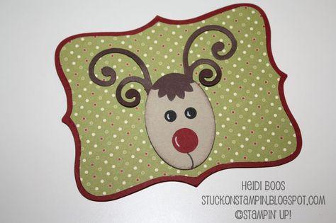 Rudolph Gift Card Holder  by Heidi Boos