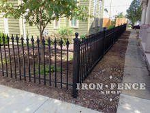 3ft Tall Wrought Iron Fence In Classic Style And Signature Grade