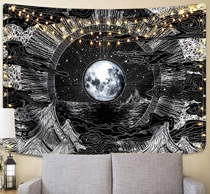 Wall Tapestry Star Tapestry Mountain Tapestry Tapestry Wall Hanging