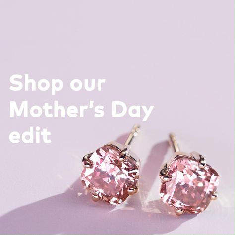 Lab-grown diamond gifts for Mother's Day
