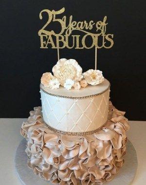 Birthday Cake Ideas For 25 Year Old Female Dengan Gambar