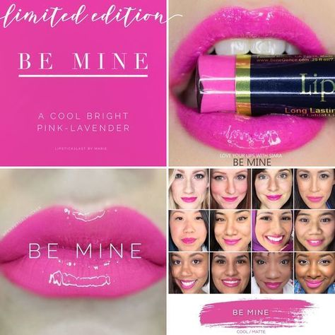Be Mine LipSense - LIMITED EDITION - LipSense SeneGence - Full size #SeneGence