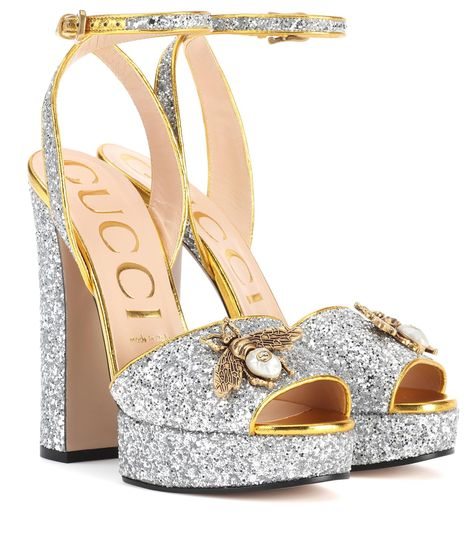 c65773303bd4 Bilderesultat for gucci heels glitter