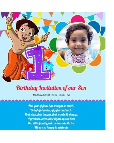 Pin On 1st Birthday Invitations