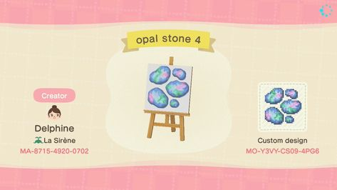 """""""I added a variety of different amounts of stones so hopefully there's enough you can use them in lots of different ways! Animal Crossing Funny, Animal Crossing Guide, Animal Crossing Qr Codes Clothes, Rare Animals, Strange Animals, Motifs Animal, Pet Rats, Killer Whales, Exotic Pets"""