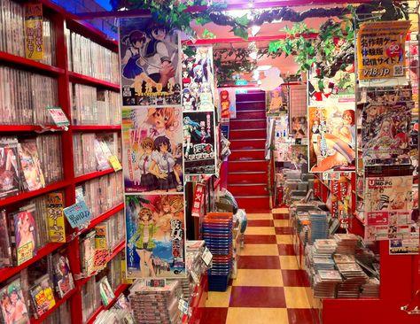 Manga Store, Tokyo | Anime store | Pinterest | Tokyo and Japan