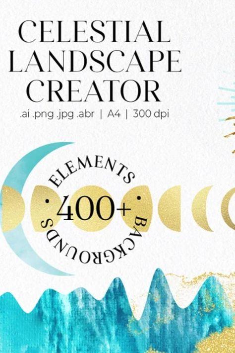 -30% Celestial Landscape Creator