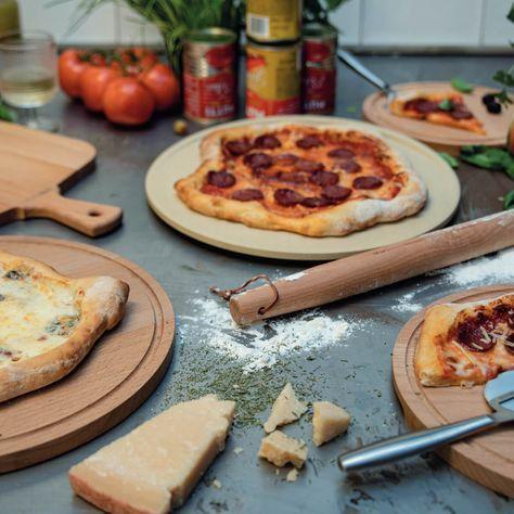 Pizza Stone Deluxe - ⌀ 11.4 inch